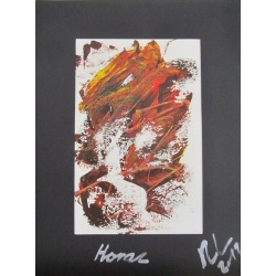 Painting No. 502 Horaz (2012) | Abstract Painting | 40x30cm | Acrylics on paper | ART by MANUEL SÜESS