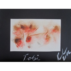 Painting No. 505 Tobi (2012) | Abstract Painting | 30x40cm | Acrylics on paper | Manuello | Art by Manuel Süess