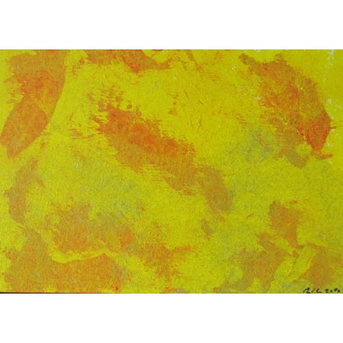 Painting No. 248 Schweisstropfen (2010) | Abstract Painting | 30x42cm | Acrylics on wood | ART by MANUEL SÜESS