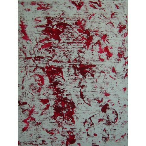 Painting No. 345 innere Stärke (2011) | Abstract Painting | 120x90cm | Acrylics on bamboo | ART by MANUEL SÜESS