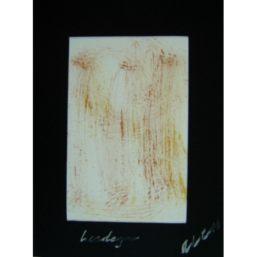 Painting No. 382 Leodegar (2011) | Abstract Painting | 40x30cm | Acrylics on paper | ART by MANUEL SÜESS