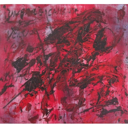 Painting No. 530 unerreichbar (2012)   Abstract Painting   40x43cm   Acrylics on wood   ART by MANUEL SÜESS