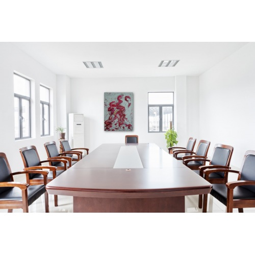 Preview: Painting No. 347 inneres Aufstreben II (2011) in a conference room