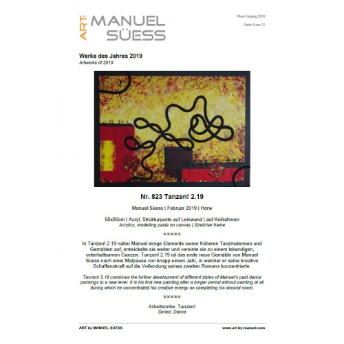 Work Catalog 2019 | Manuello | Art by Manuel Süess